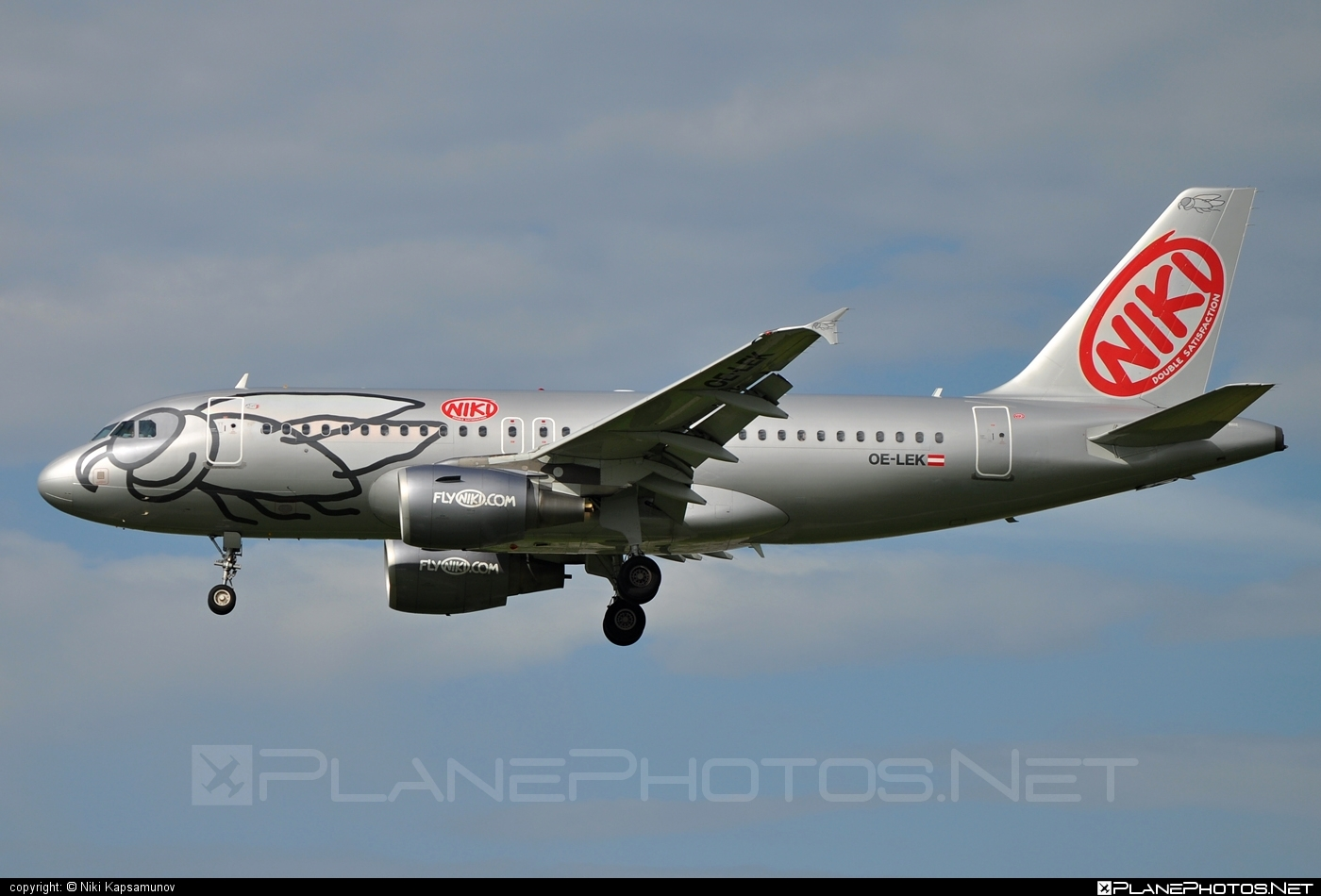 Airbus A319-112 - OE-LEK operated by Niki #a319 #a320family #airbus #airbus319 #flyniki #niki