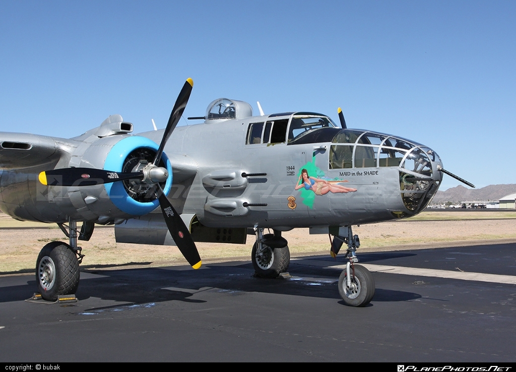 North American B-25J Mitchell - N125AZ operated by Private operator #b25 #b25j #b25mitchell #northamerican