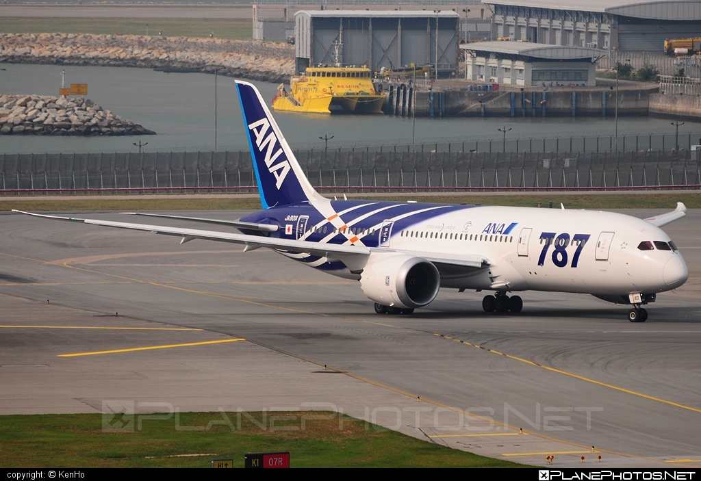 Boeing 787-8 Dreamliner - JA801A operated by All Nippon Airways (ANA) #b787 #boeing #boeing787 #dreamliner