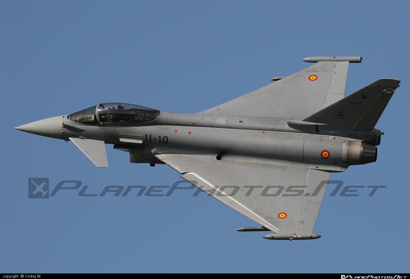 Ejército del Aire (Spanish Air Force) Eurofighter Typhoon S - C.16-30