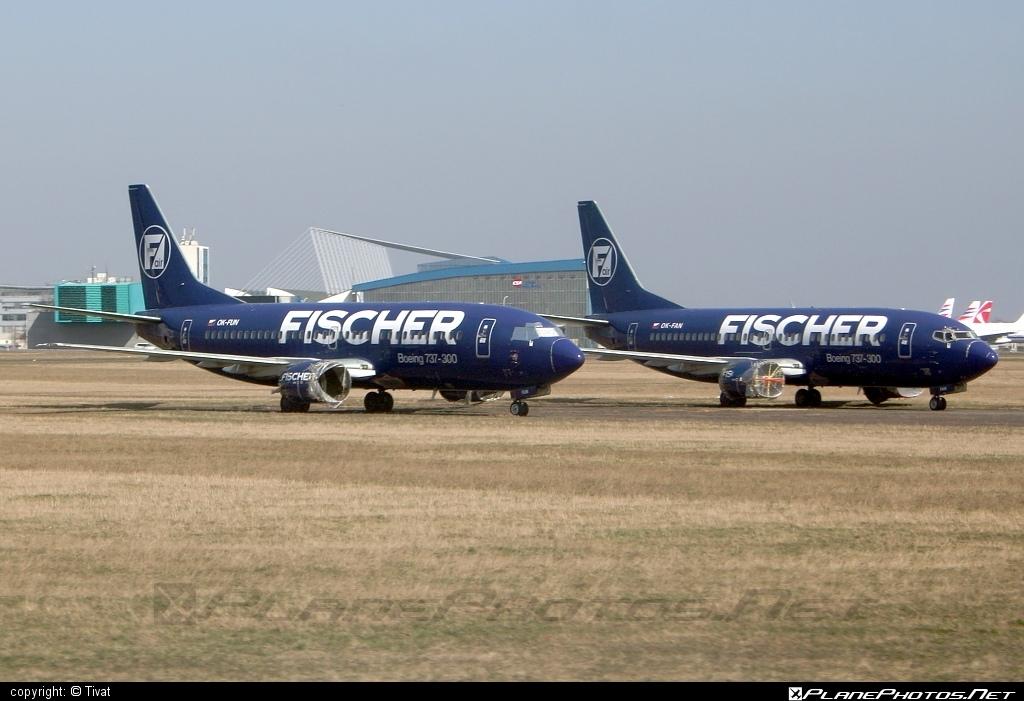Boeing 737-300 - OK-FUN operated by Fischer Air #b737 #boeing #boeing737