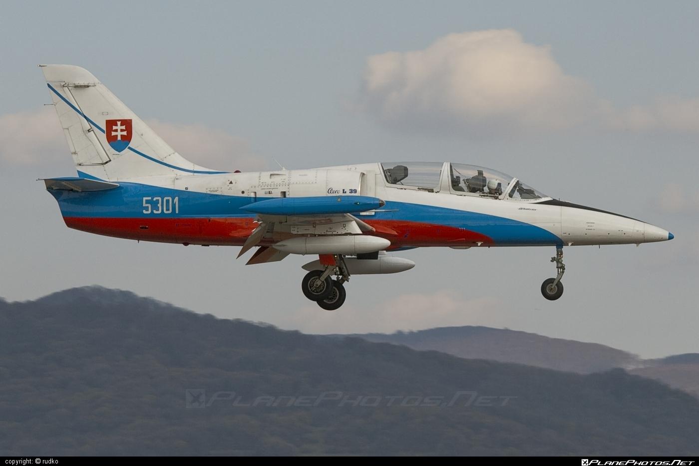 Aero L-39CM Albatros - 5301 operated by Vzdušné sily OS SR (Slovak Air Force) #aero #aerol39 #aerol39albatros #aerol39cmalbatros #albatros #l39 #l39cm #l39cmalbatros #slovakairforce #vzdusnesilyossr