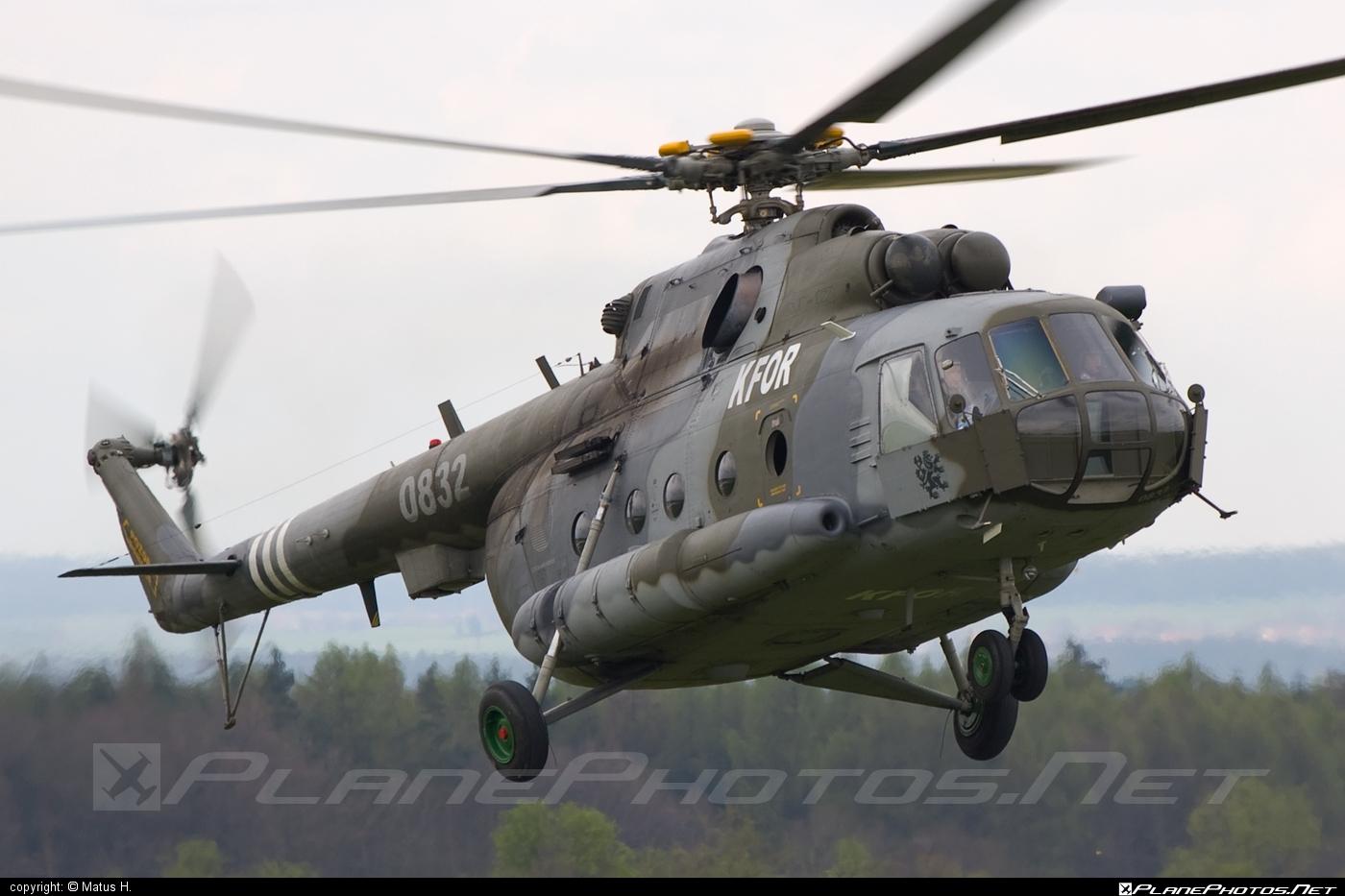 Mil Mi-17 - 0832 operated by Vzdušné síly AČR (Czech Air Force) #czechairforce #mi17 #mil #mil17 #milhelicopters #vzdusnesilyacr