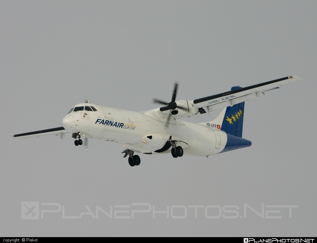ATR 72-201 - HB-AFR operated by Farnair Europe #atr