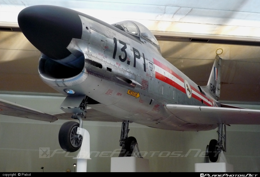 Fiat F-86K Sabre - 54841 operated by Armée de l´Air (French Air Force) #armeedelair #fiat #frenchairforce