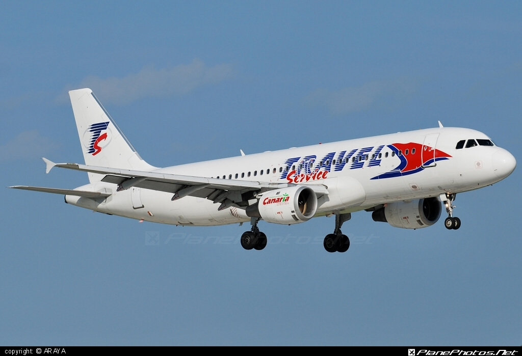 Airbus A320-211 - YL-LCA operated by Travel Service #a320 #a320family #airbus #airbus320 #travelservice