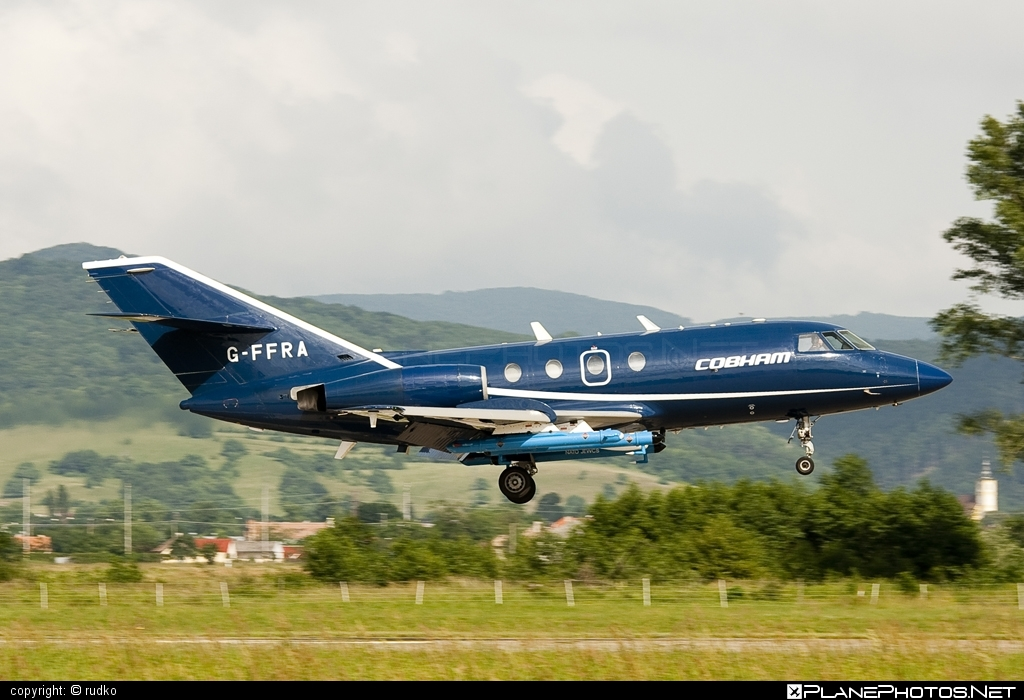 Dassault Falcon 20DC - G-FFRA operated by FR Aviation #dassault