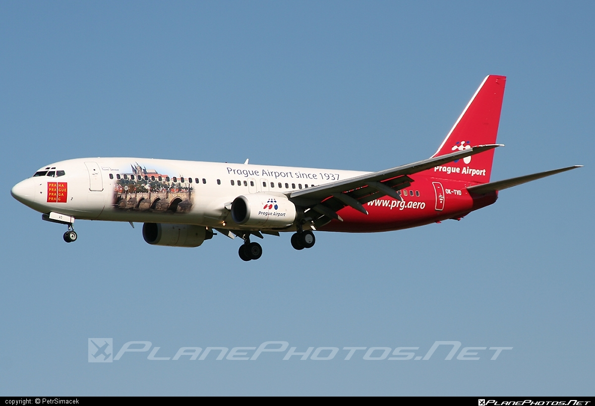 Boeing 737-800 - OK-TVD operated by Travel Service #b737 #b737nextgen #b737ng #boeing #boeing737 #travelservice