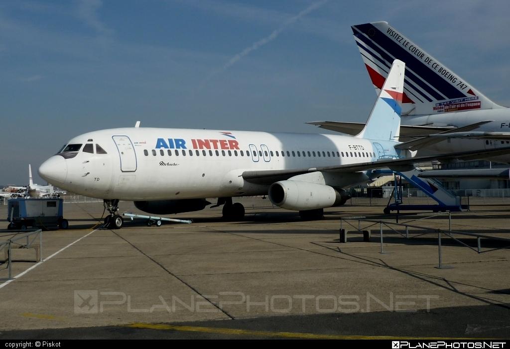 Dassault Mercure 100 - F-BTTD operated by Air Inter #dassault