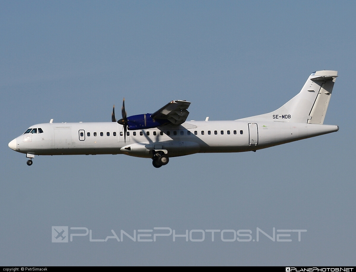 ATR 72-212A - SE-MDB operated by Golden Air #atr