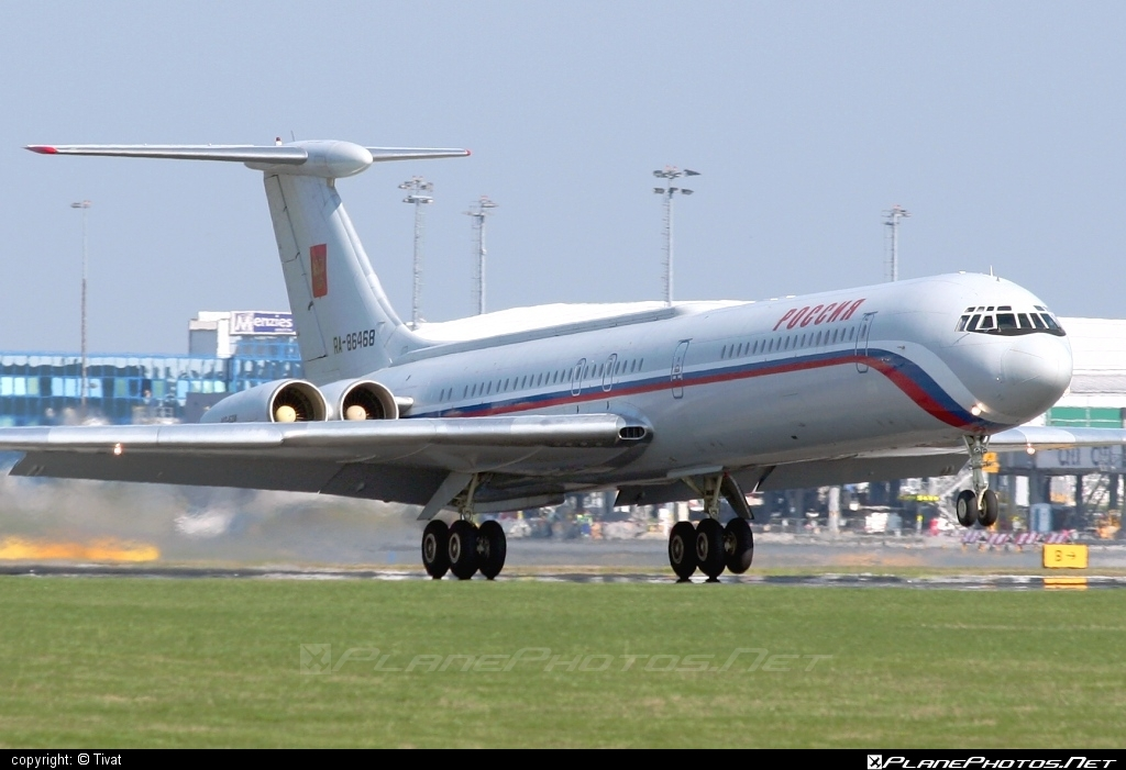 Ilyushin Il-62MK - RA-86468 operated by Rossiya Airlines #il62 #il62mk #ilyushin