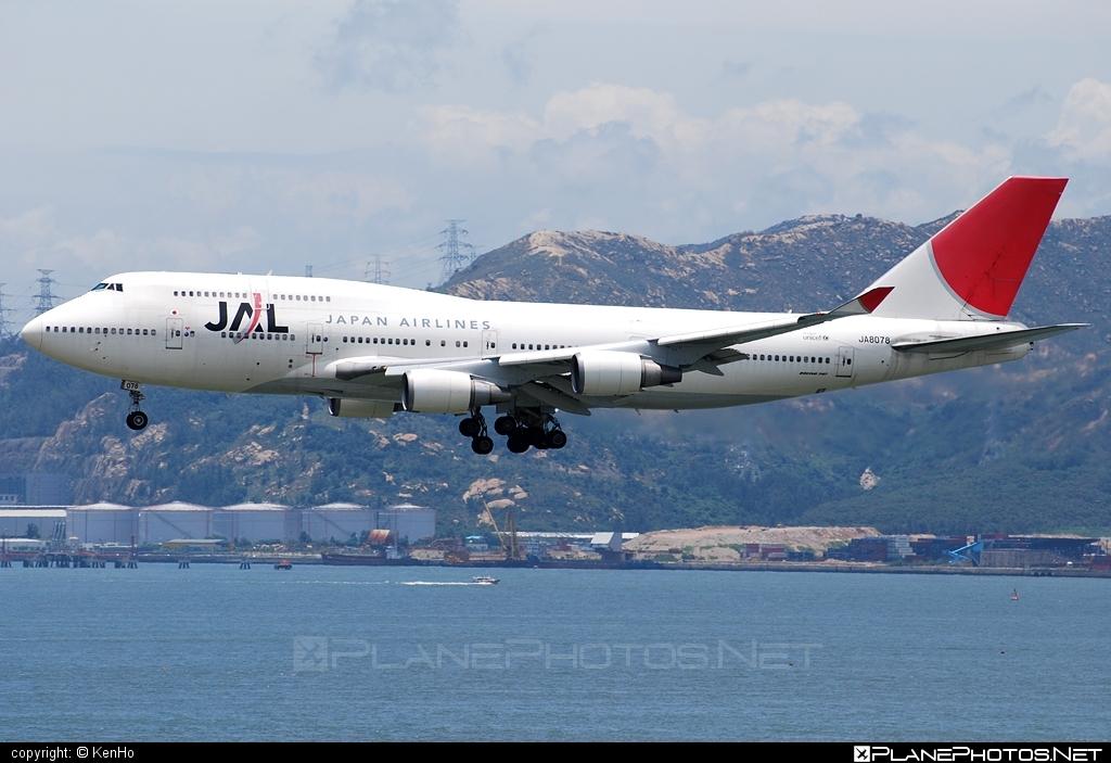 Boeing 747-400 - JA8078 operated by Japan Airlines (JAL) #b747 #boeing #boeing747 #jumbo