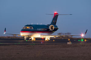 Private operator Bombardier CL-600-2B16 Challenger 604 - M-LOOK