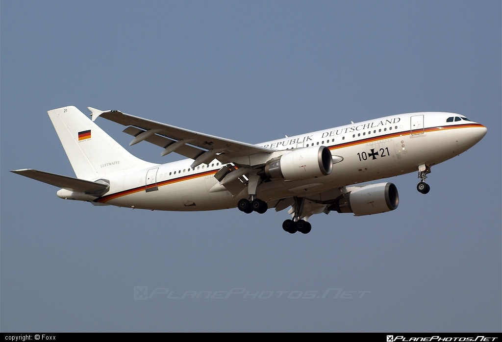 Airbus A310-304 - 10+21 operated by Luftwaffe (German Air Force) #GermanAirForce #a310 #airbus #airbus310 #luftwaffe