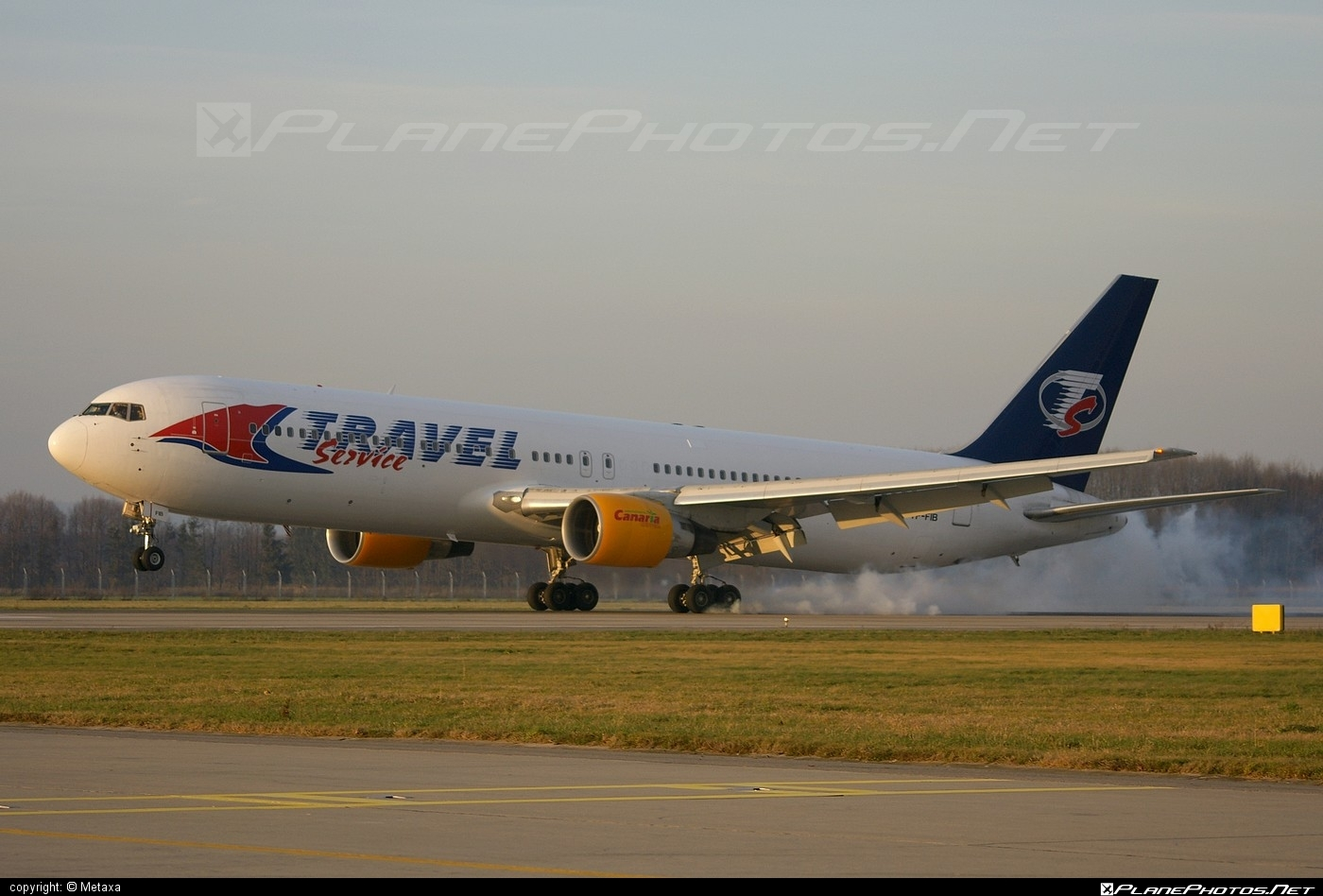 Boeing 767-300ER - TF-FIB operated by Travel Service #b767 #b767er #boeing #boeing767 #travelservice