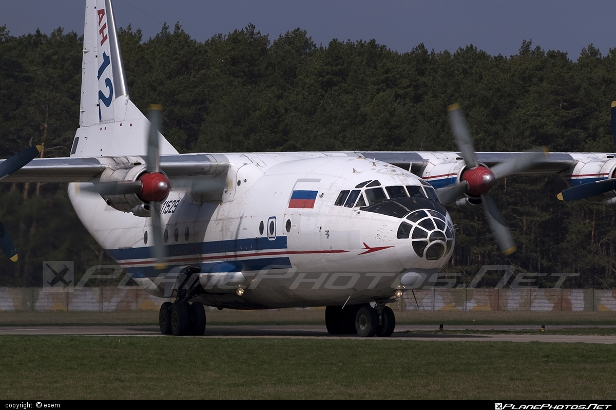 Antonov An-12 - 11529 operated by RSK MiG #an12 #antonov #antonov12