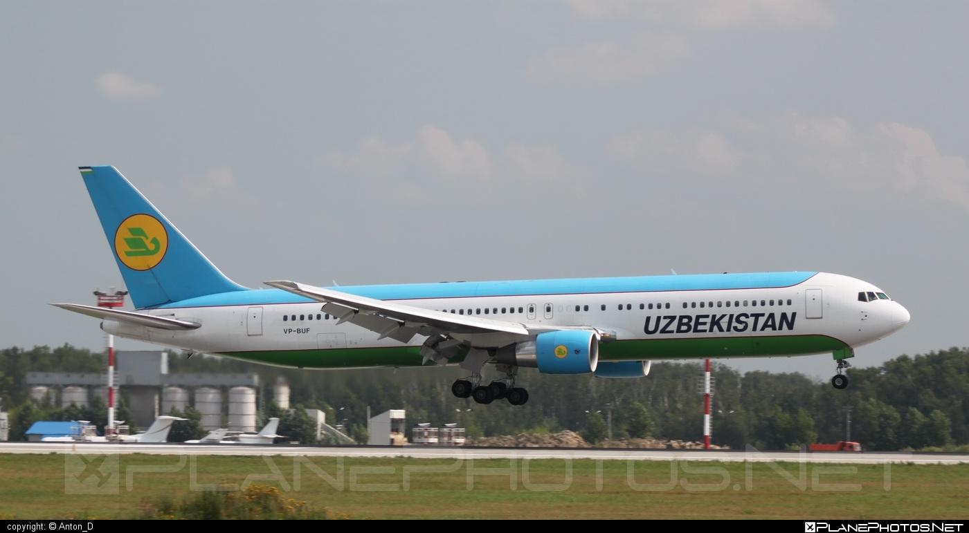 Boeing 767-300ER - VP-BUF operated by Uzbekistan Airways #b767 #b767er #boeing #boeing767