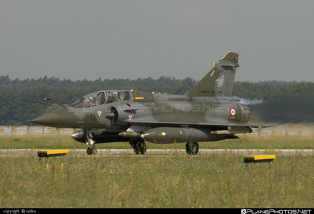 Dassault Mirage 2000D - 662 operated by Armée de l´Air (French Air Force) #armeedelair #dassault #frenchairforce