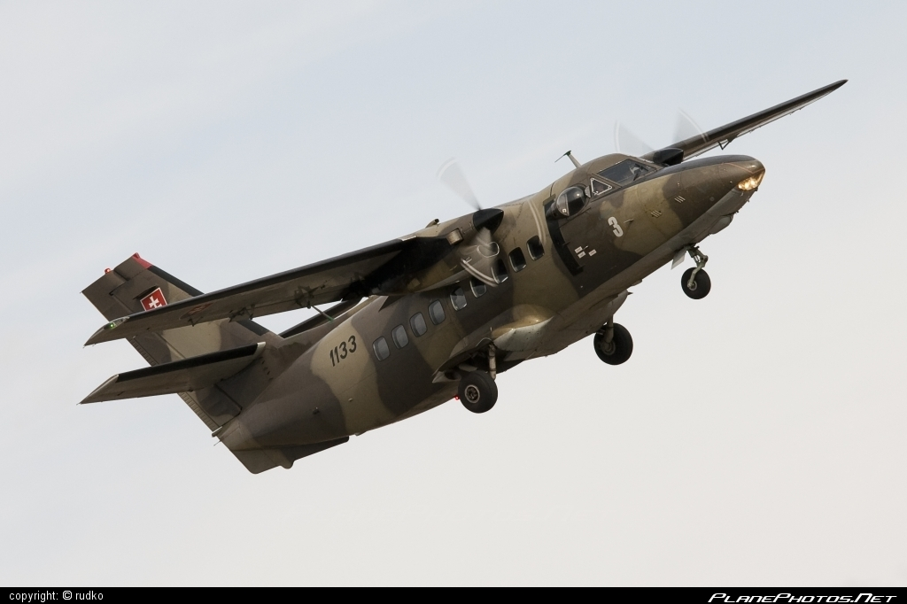 Let L-410T Turbolet - 1133 operated by Vzdušné sily OS SR (Slovak Air Force) #let #slovakairforce #vzdusnesilyossr