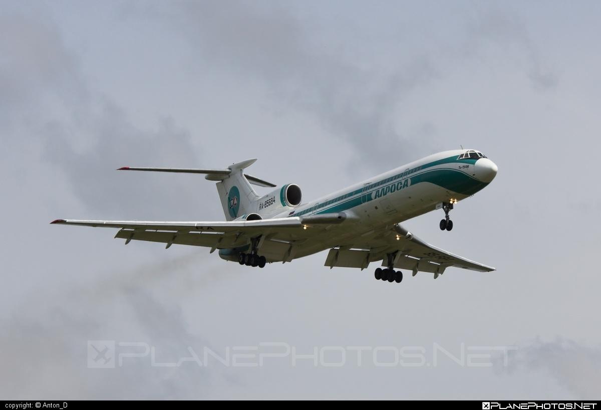 Tupolev Tu-154M - RA-85684 operated by Alrosa Mirny Air Enterprise #tu154 #tu154m #tupolev