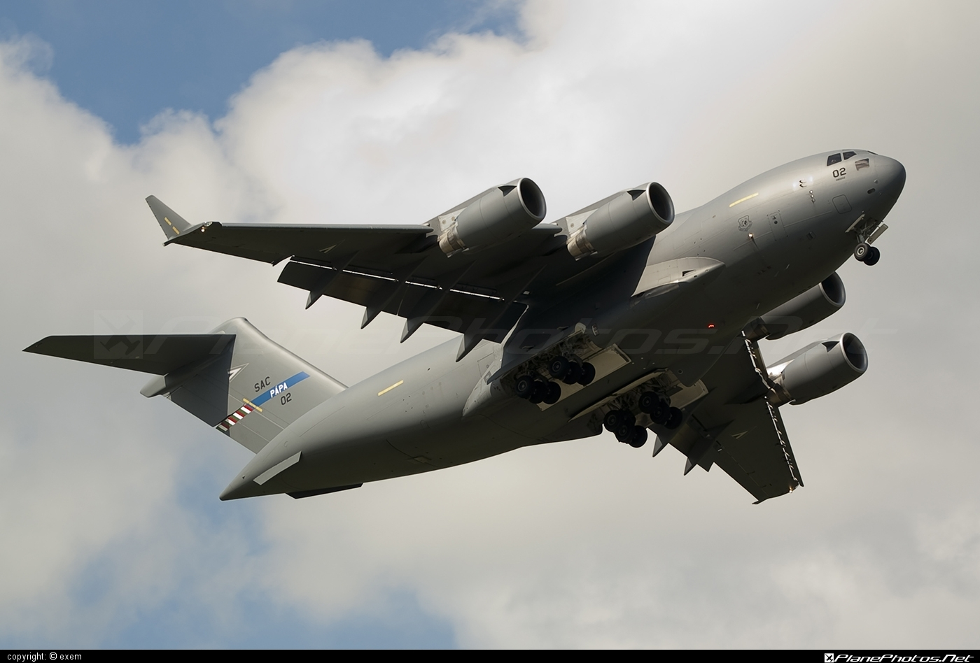 Boeing C-17A Globemaster III - 02 operated by NATO Strategic Airlift Capability (SAC) #boeing #c17 #c17globemaster #globemaster #globemasteriii #natostrategicairliftcapability #strategicairliftcapability