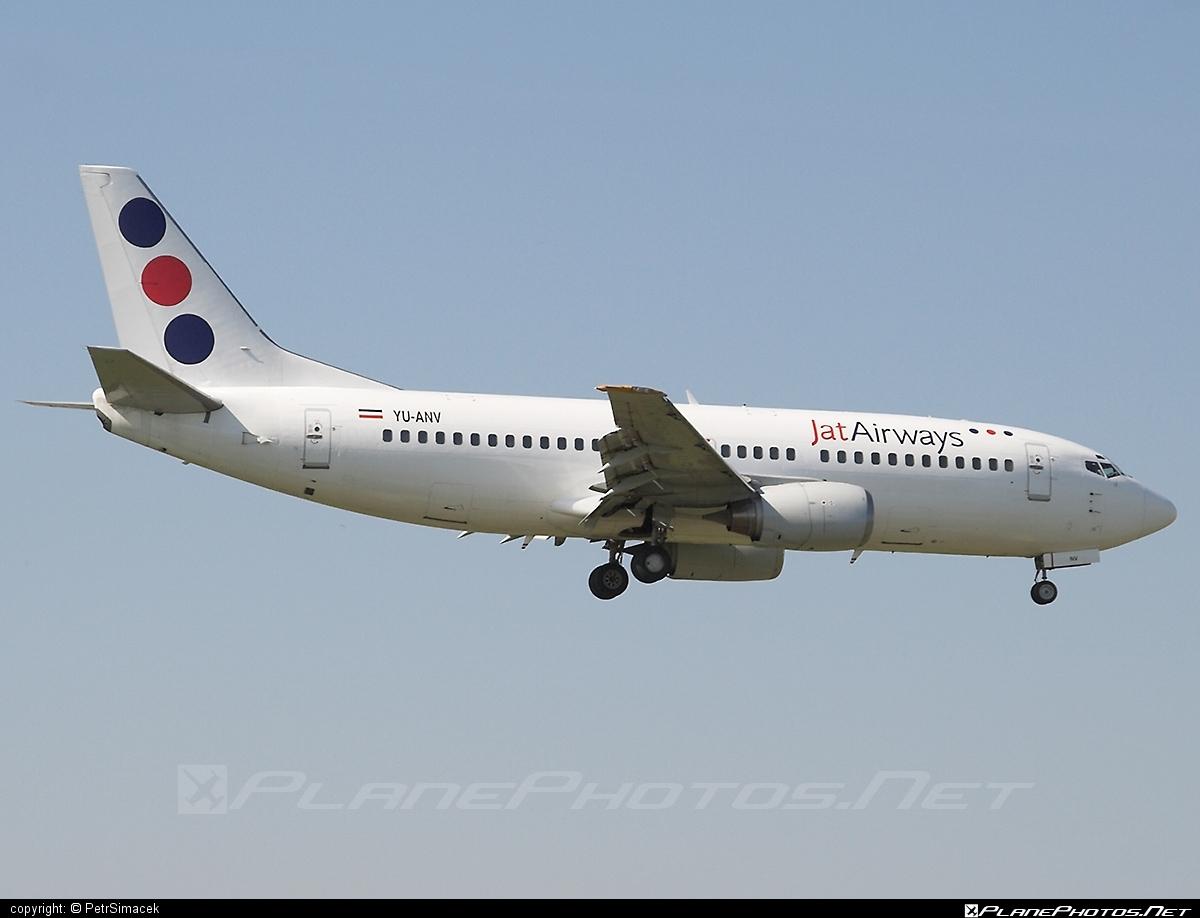 Boeing 737-300 - YU-ANV operated by Jat Airways #b737 #boeing #boeing737