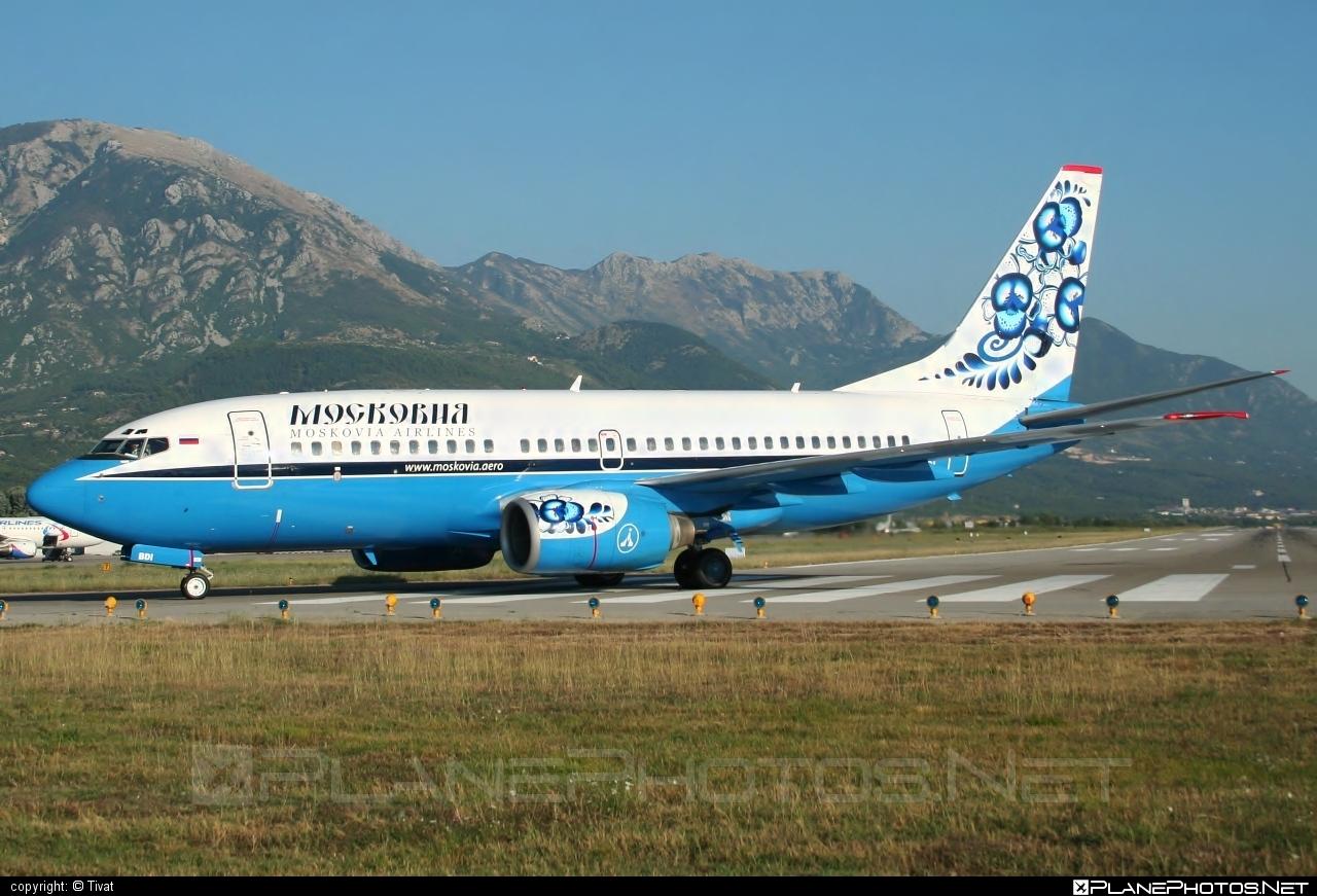 Boeing 737-700 - VQ-BDI operated by Moskovia Airlines #b737 #b737nextgen #b737ng #boeing #boeing737
