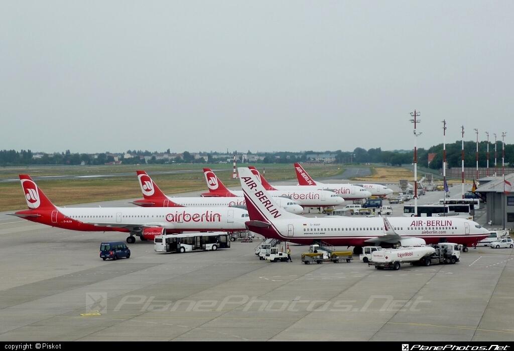 Berlin Tegel airport overview