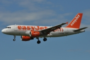 Airbus A319-111 - G-EZBY operated by easyJet