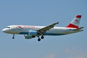 Airbus A320-214 - OE-LBV operated by Austrian Airlines