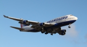 Boeing 747-400 - EI-XLL operated by Transaero Airlines