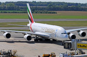 Airbus A380-861 - A6-EDH operated by Emirates