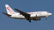 Boeing 737-600 - TS-IOM operated by Tunisair