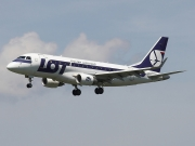 Embraer E170STD (ERJ-170-100STD) - SP-LDA operated by LOT Polish Airlines