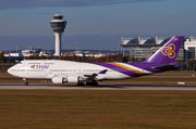 Boeing 747-400 - HS-TGZ operated by Thai Airways