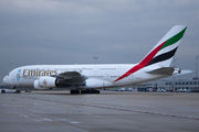 Airbus A380-861 - A6-EDL operated by Emirates