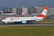 Boeing 737-800 - OE-LNP operated by Austrian Airlines