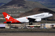 Airbus A319-112 - HB-JVK operated by Helvetic Airways