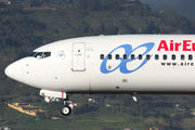 Boeing 737-800 - EC-JHL operated by Air Europa
