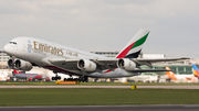 Airbus A380-861 - A6-EDU operated by Emirates