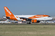 Airbus A319-111 - G-EZFD operated by easyJet