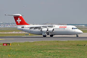British Aerospace Avro RJ100 - HB-IYZ operated by Swiss Global Air Lines