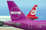Airbus A321-211 - TF-SON operated by WOW air