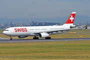 Airbus A330-343 - HB-JHL operated by Swiss International Air Lines