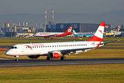 Embraer 190-200LR - OE-LWL operated by Austrian Airlines