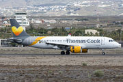 Airbus A320-214 - OO-TCH operated by Thomas Cook Airlines