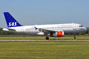 Airbus A319-132 - OY-KBP operated by Scandinavian Airlines (SAS)