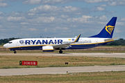 Boeing 737-800 - EI-DPI operated by Ryanair