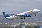 Airbus A320-214 - D-ASPI operated by Small Planet Airlines