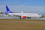 Boeing 737-800 - LN-RGH operated by Scandinavian Airlines (SAS)